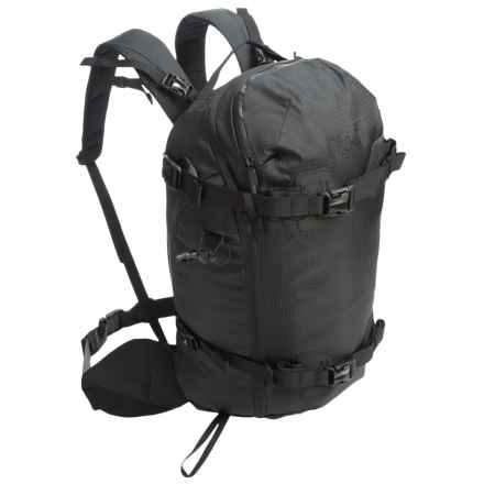 Burton [ak] 31L Backpack - Internal Frame in True Black Bonded Ripstop - Closeouts